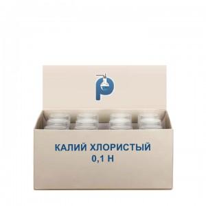 Калий хлористый 0,1 Н