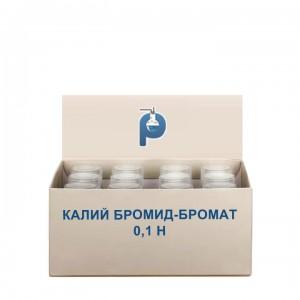 Калий бромид-бромат 0,1 Н