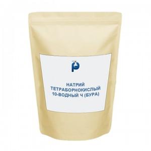 Натрий тетраборнокислый 10-водный Ч (Бура)