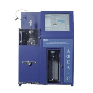 Анализатор АФСА (для фракционной разгонки нефтепродуктов по ГОСТУ 2177. Полностью автоматический процесс)