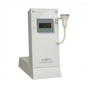 Анализатор молока Клевер-2 (для определения доли, жира, белка, плотности, сухого обезжиренного остатка (СОМО)