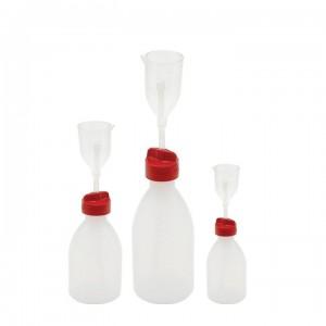Бутылка-дозатор град. объема, ПЭ/ПМП, Kartell 250 мл / 25 мл