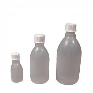 Бутылка узкогорлая градуированная 125 мл, полиэтилен