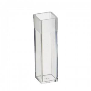 Кюветы пластиковые Aptaca для анализаторов (спектрофотометров), полу-микро, 10х4х45 мм, 0,5-2 мл, п/с
