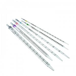 Пипетки серологические стерильные 5 мл, для ПЦР, FL medical; уп. 250/1000 шт.