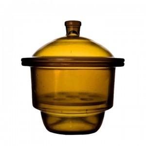 Эксикатор без крана 2-240 мм, темное стекло