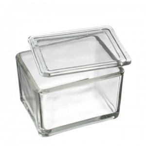 Емкость стеклянная для окраски препаратов 150х85х80 мм (под штатив-рамку на 60 стекол, арт. 12005217)