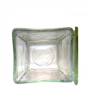 Емкость стеклянная для окраски препаратов 75х65х85 мм (под штатив-рамку на 30 стекол, арт. 12005107)