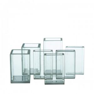 Кювета для фотометрии из стекла К-8 10х5 мм с уменьшенным объемом (1,5 мл)