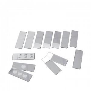 Стекло для микропрепаратов предметное СП-7109, 26х76±1,0 мм, толщ. 1,0±0,1 мм, с полированными краями и оранжевой полосой для записи