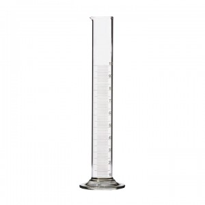 Цилиндр лабораторный мерный на стеклянном основании 1-100-2