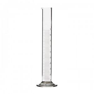 Цилиндр лабораторный мерный на стеклянном основании 1-25-2